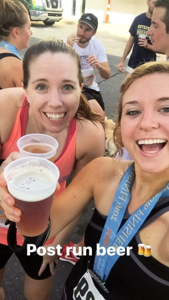 Post Run Beer